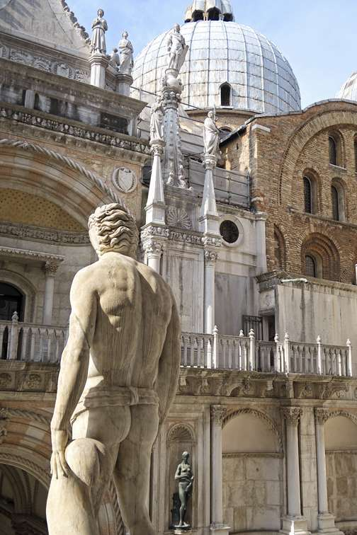 Lester Blum, Neptune at the Doge's Palace