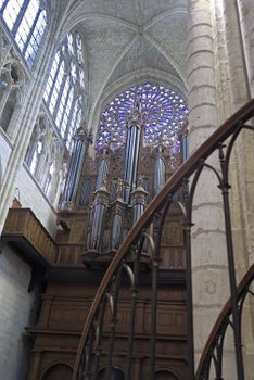 Organ Pipes St. Gatien Cathedral