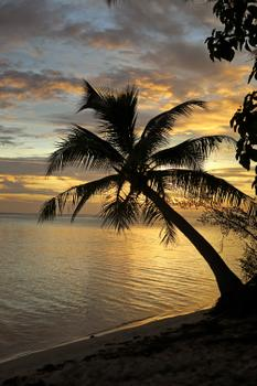 Sunset Motu Tapu