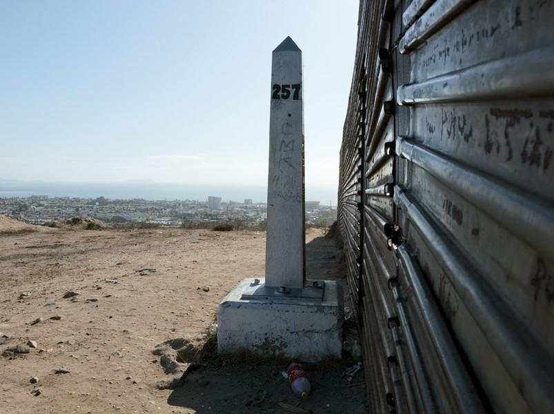 Border Monument No. 257