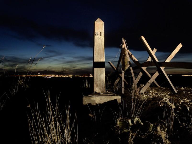Border Monument No. 81
