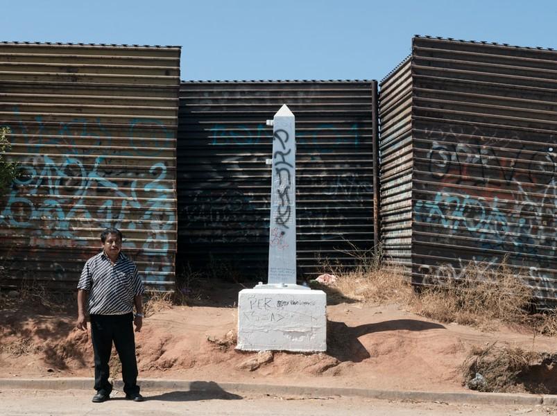 Border Monument No. 245