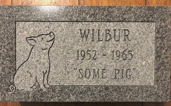 Wilbur R.I.P. (Charlotte's Web)