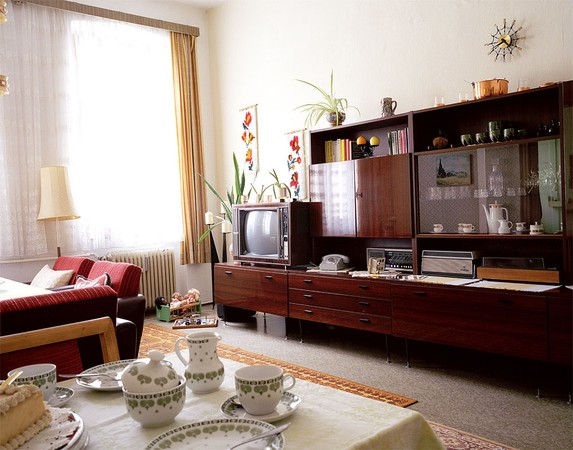 Living room from the 70's