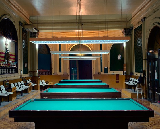 Billiard Club IV, Barcelona, Spain
