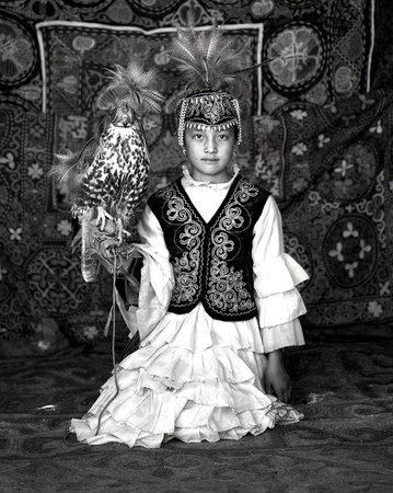 Nomad Girl w/ Falcon