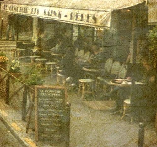 Cafe en Plein Air